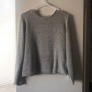 Columbia woven sweater
